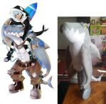 Aniwave Shark Plush Commission by Super3dcow