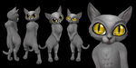 (Model) Lil' Kitty by bugtrot