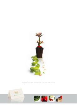 flower shop ad by emanescence