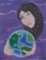 Mother Earth by the-punk-hippie