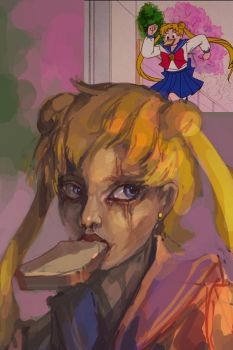 Usagi by bloodrizer
