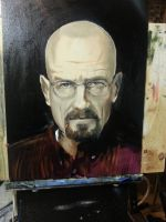 Walter Hartwell White (work in progress, Stage 1) by SirGunky
