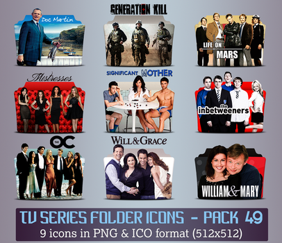 TV Series - Icon Pack 49 by apollojr