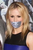 Anna Paquin Gagged by ikell