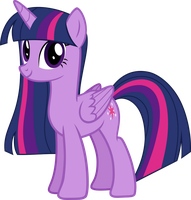 EqG Ponified Twilight Sparkle by Rustle-Rose