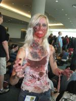 Zombie Comic Con 2011 2 by collogethecat
