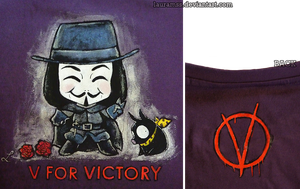 V for Victory by LauraMSS