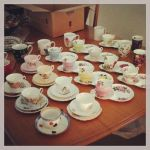 Tea Cups by LuluTheroux