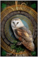 owl art by greenfeed