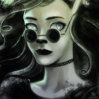 Fearless Black |Art Trade| by LeffieDeviant