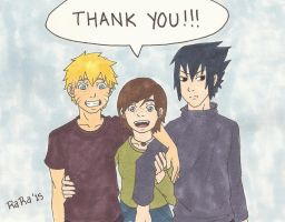 Thank You 50+ Watchers!!! by artluvr103