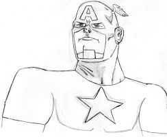 Captain America by ImaDoctor96