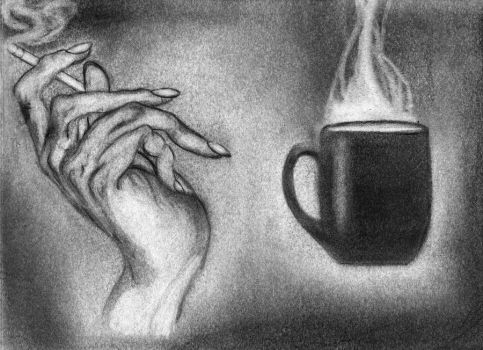 hand and cofe by reptiyavka