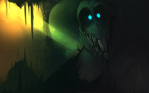 the scarycave by DrManiacal