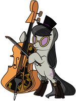 Miss Octavia of Canterlot by FilipinoNinja95