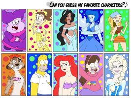 .:My Favorite Character Meme Part 03:. by CottonCatTailToony