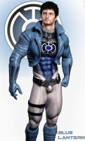 Blue Lantern Re-imagined by Biako06