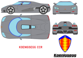 Koenigsegg CCR by bagera3005