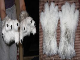 Werewolf Gloves by TheRootOfAllEvil
