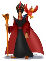 All Hearts - Jafar and Iago by LynxGriffin