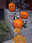 Pumpkins  Drinking by Dove-Falcon