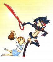 SpEd NYC 2015 - Kill la Kill by Underburbs