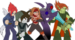 The ol' Gang by Kirbopher15