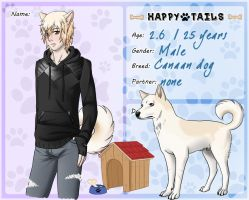 Dog Application Zeke by kiba-chan27
