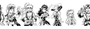 Steampunk Elfquest by Sonion