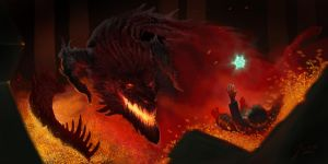 Smaug by jusza