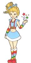 Rainbow Brite by wolfypuppy