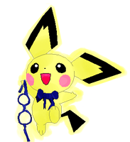 my pichu for the compaction by Shollese