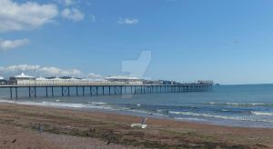 Paignton pier by charlie1875