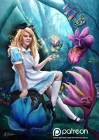 Alice in Wonderland by AnthonyChristou