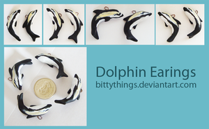 Dolphin Earings by Bittythings