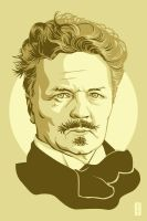 August Strindberg by monsteroftheid