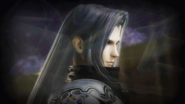 Sephiroth in Motion:  First Gif! by DaikiniSan