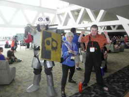 Otakon 2013 - Dan, Jack and Ralph by mugiwaraJM