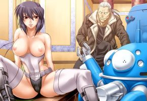 Ghost in the shell topless by deathtopuppets