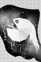 Monster letters WB by Kr4mon