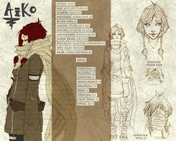 Aiko - Reference Sheet by Redundantthoughts