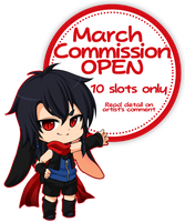 March Commission Closed by PrinceOfRedroses