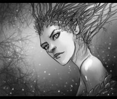Forest girl by fifoux