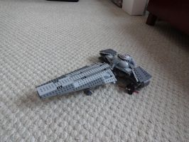 Lego Star Wars Darth Maul's Sith Infiltrator by andyjshi
