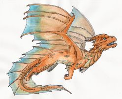 Copper Dragon by Skylanth