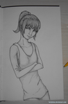 Crossed Arms Pose by LuckyItou