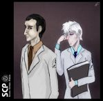 Dr.Gears and dr.Aceberg by Dekst0