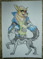 The shape shifter by StanHoneyThief