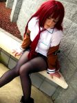 Makise Kurisu, Steins Gate by miyumiyuchancosplay