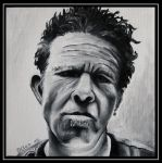 Tom Waits by KleopatraAurel